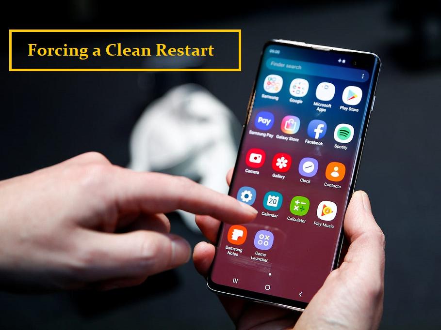Forcing a Clean Restart