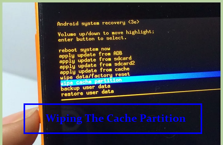 Wiping The Cache Partition