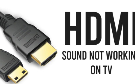 HDMI-Sound-Not-Working-On-TV