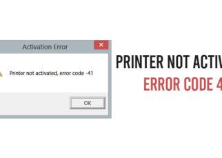 Printer-Not-Activated-Error-Code-41