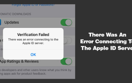 There-Was-An-Error-Connecting-To-The-Apple-ID-Server