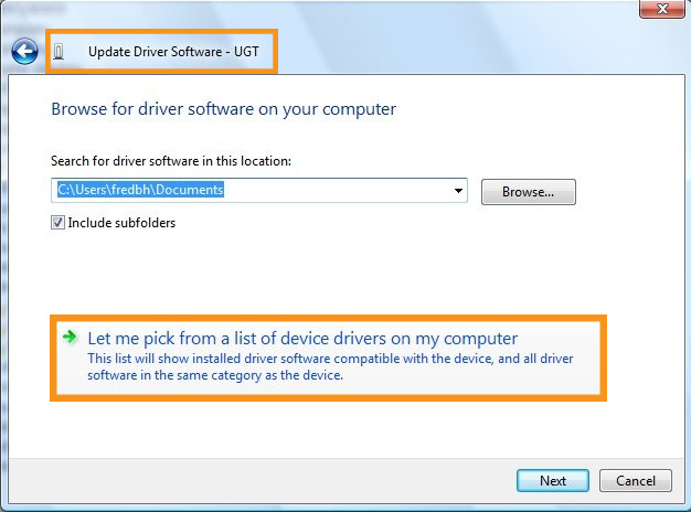 Change the Network Adapter Drivers