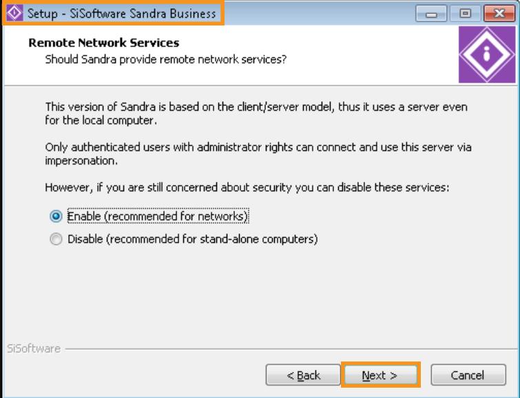 Make Use of the SiSoftware Sandra