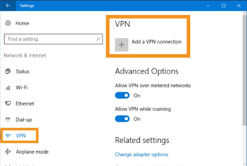 Manually Configure a Free VPN
