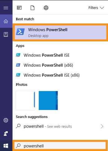 Re-Register the Windows Store App