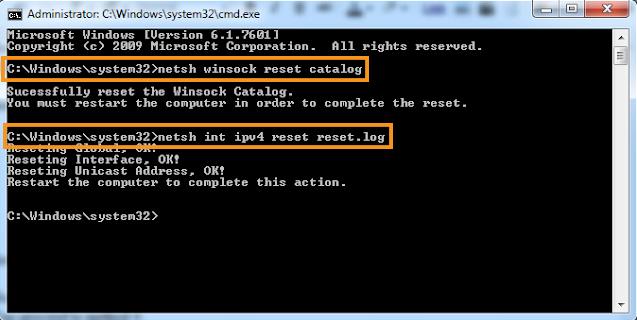 Reset IPv6