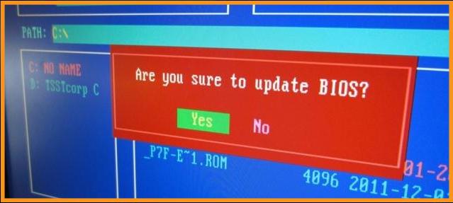 Update the BIOS
