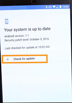 Update your Android Device