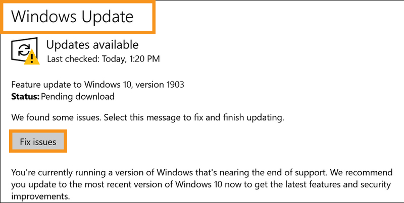Check the Windows Update Utility Manually