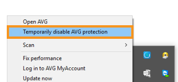 Disable Your Antivirus Software