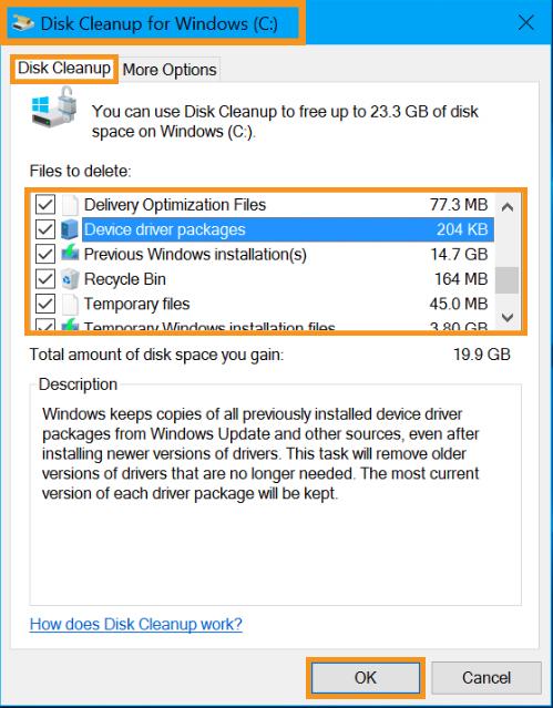 Eliminate Temporary Installation Files