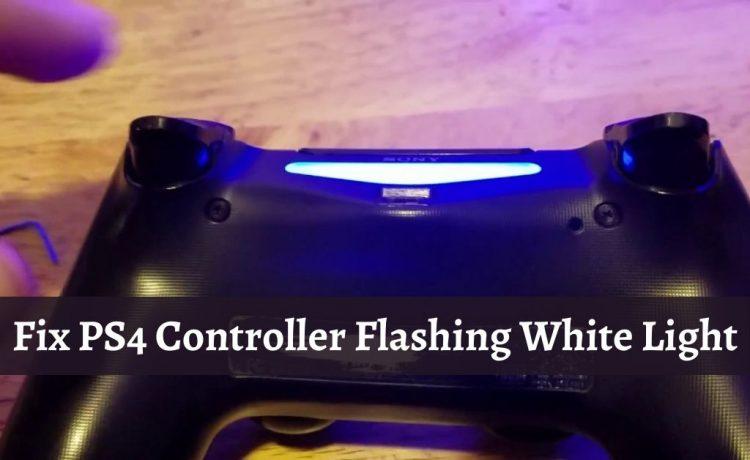 PS4 Controller Flashing