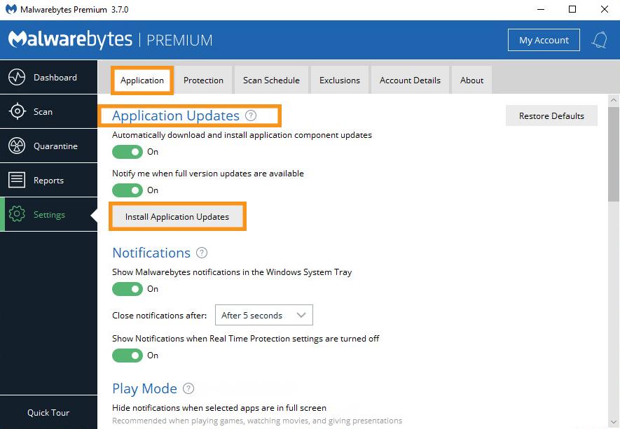 Install the Latest Version of Malwarebytes