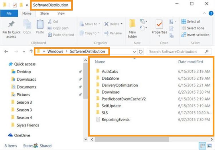 Remove Everything in SoftwareDistribution Folder