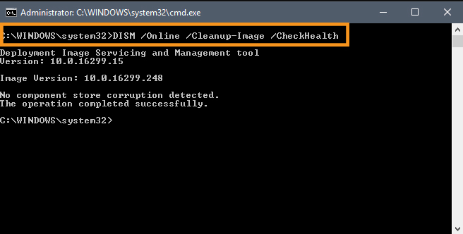 Run the Deployment Image Servicing and Management Utility
