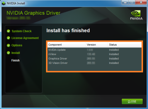Install the Latest Version of the NVIDIA Display Driver