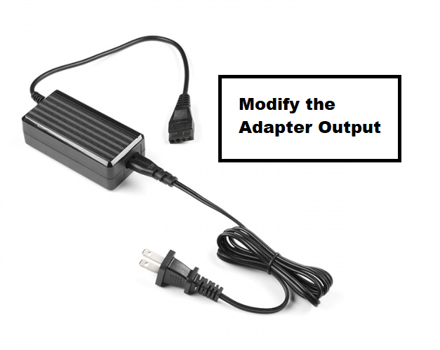 Modify the Adapter Output