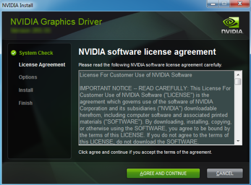Reinstall the NVIDIA Display Driver