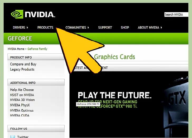 Update NVIDIA Drivers