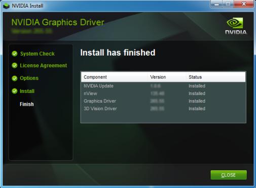 Verify NVIDIA Display Driver Service