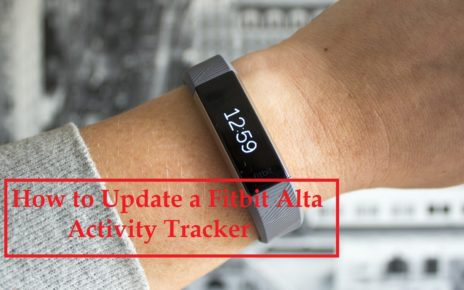 How to Update a Fitbit Alta Activity Tracker