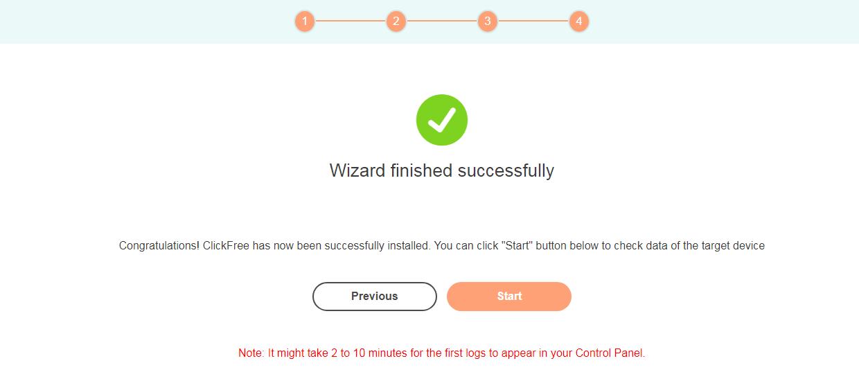 clickfree-finish-installation