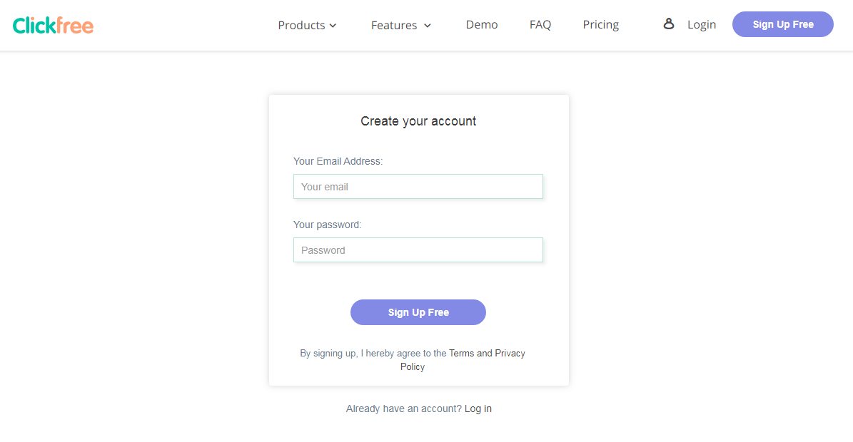 clickfree-sign-up