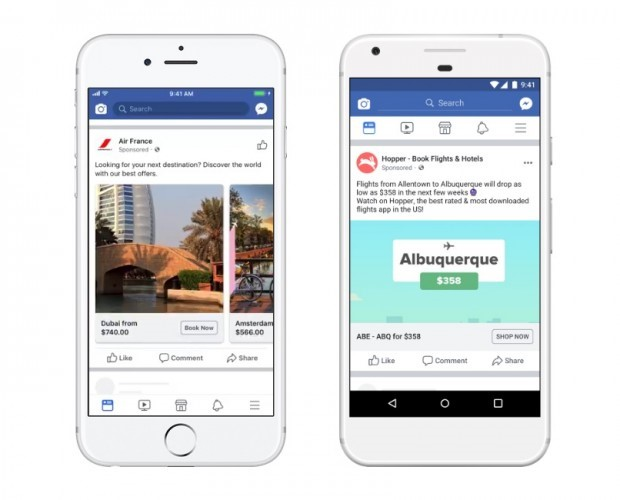 how to track traveler on facebook
