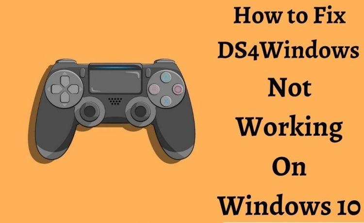 ds4windows not working