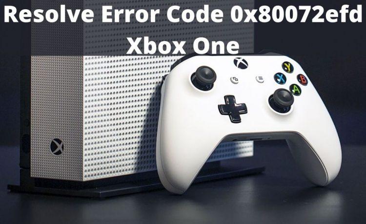 Error Code 0x80072efd